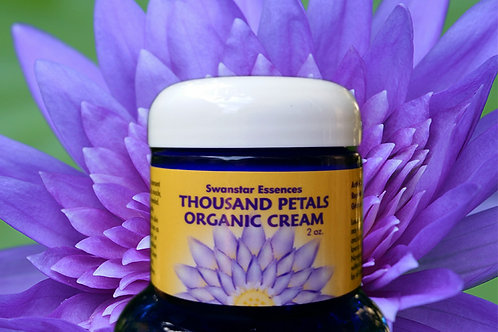 Thousand Petals Organic Cream for Pain Relief