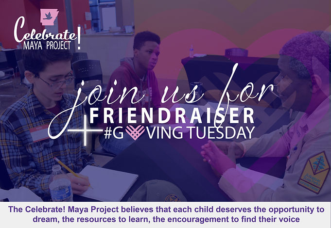 Friendraiser and Giving Tuesday with Pho