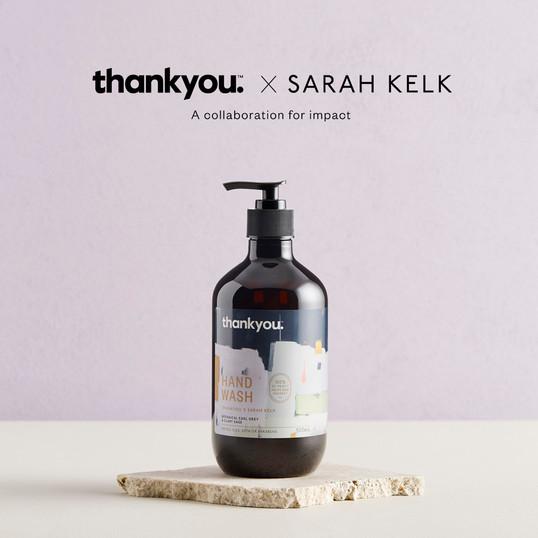 Thankyou x Sarah Kelk
