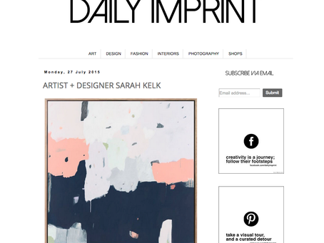 DAILY IMPRINT // INTERVIEW