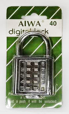 Digital Lock 40 SS 0107