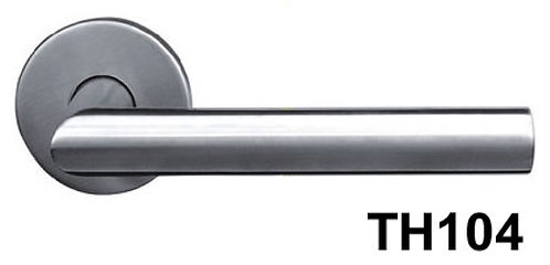 Lever Handle Stainless Steel Black Box TH104 SN 1342