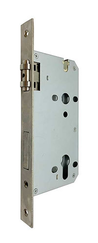P European Mortice Lockcase with Roller P8560 (Red Sticker) 60x85 SS 1339