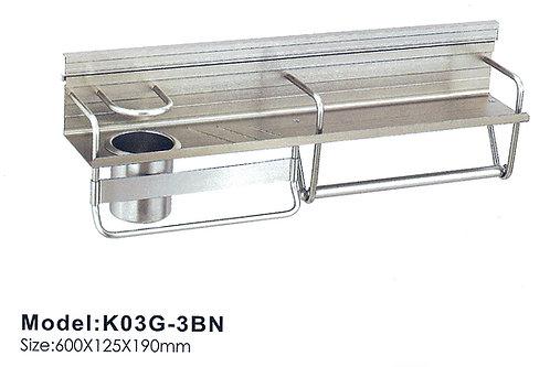 Kitchen Utensil Holder K03G-3BN BN 0115