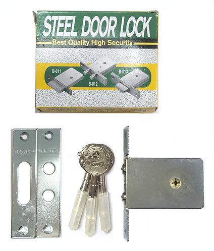 Steel Door Lock B-012 SS 1110
