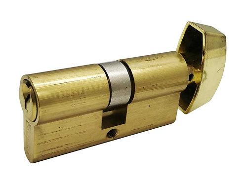 Brass Euro Cylinder Single 24101-360-605 PB 3315