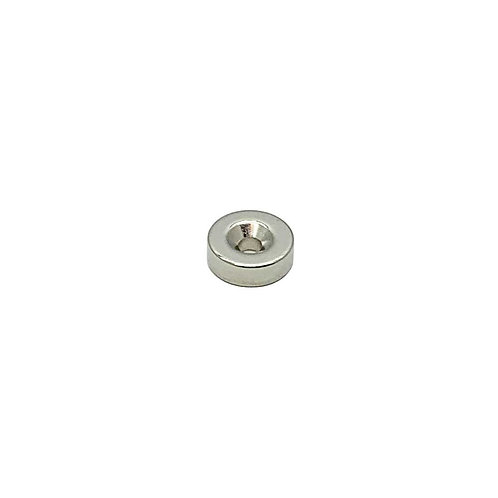 Magnetic Round 15 x 5 - 4mm SS 00F2
