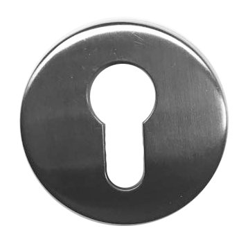 Escutcheon Cover Round keyhole SS 1339