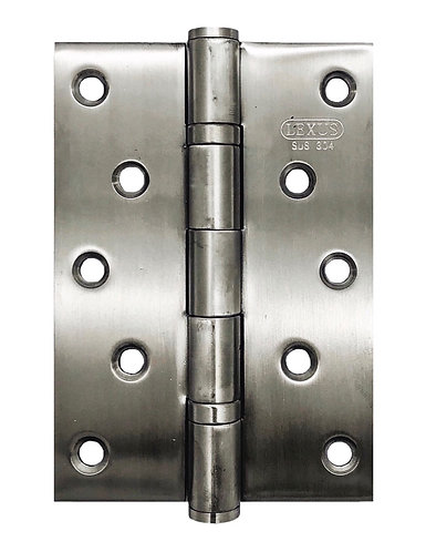 "SUS304 Hinges 2BB 5"" x 3.5"" x 3mm SN 0149"