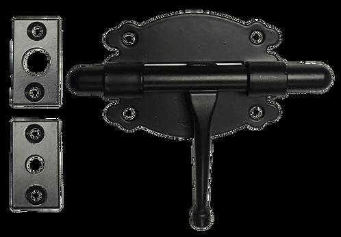 Black Barrel Bolt 484-80 Pasador Negro BK 1124