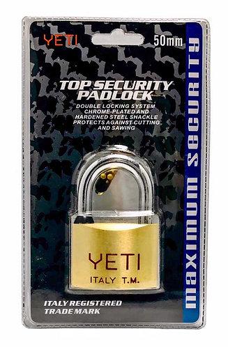 Dotted Keys Padlock L101A Short 50 SB 0112