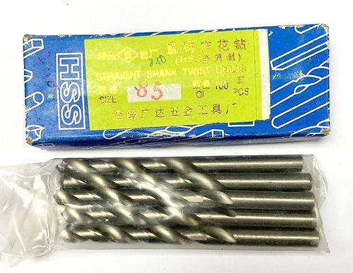 HSS Straight Shank Twist Drills 8.5mm SS 0001