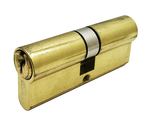 Brass Euro Cylinder Double 24102-070-605 PB 3302