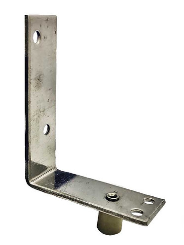 Plastic Guide M3 L-Bracket with L Guide Below SS 0176