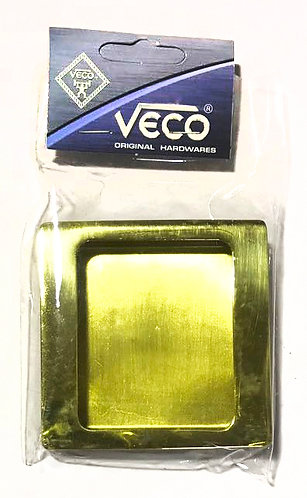 Recess Handle Square Blank Cover CDQ-63 PB 0317