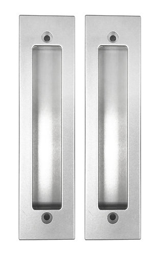 Pull Door Handle H038/072 with hole Back to Back 192mm SN 0348