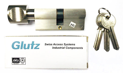 Thumbturn Cylinder with Blank Key 180543 70mm SS 1121