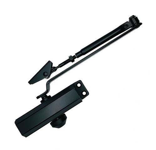 51XNLITE-BK Door Closer with Normal Arm BK 1145