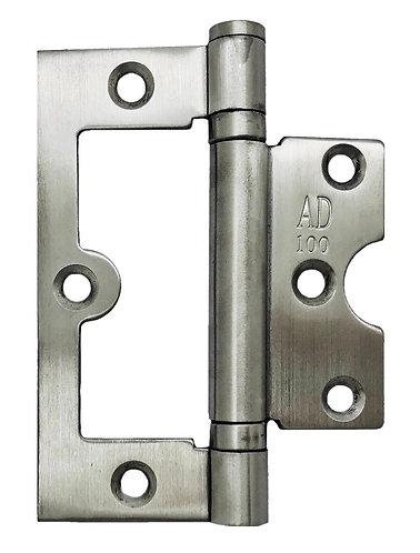 """AD100 L BiFold Hinge 4"""" x 3"""" x 2mm SS 0135"""