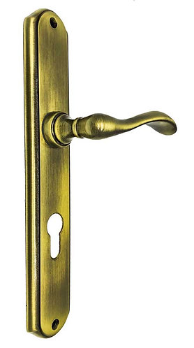 416 Lever HandleSet with K/H YALE 72 AB 0116