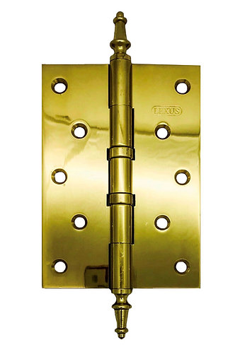 "Brass Hinges Pogoda Tip 2BB 5"" x 3.5"" x 4mm PB 0170"