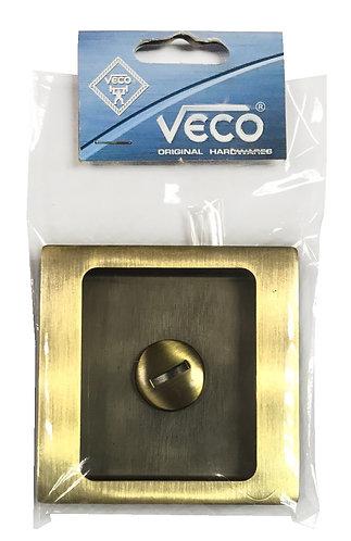 Square Coin Lock Thumbturn CDK-63-3 AB 0328