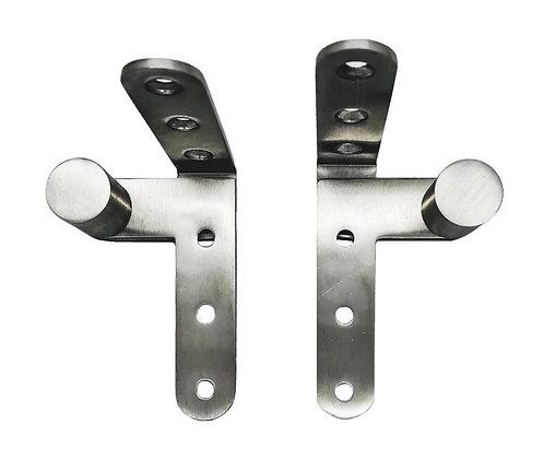 S/Steel Crank Hinges 20 x 20 x 81 x 3mm SS 0166