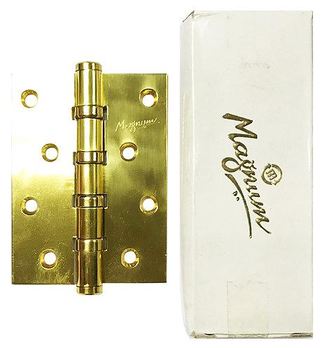 "Brass Mortice Hinges 4BB 5"" x 3"" x 3mm PB 0173"