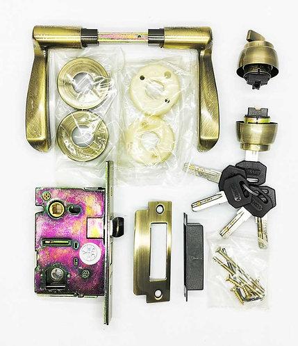 Mortice Lockset L047/JA21-5115 51mm AB 1347