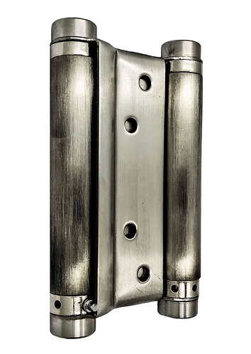 """Double Action Spring Hinges DAS 4"""" SS 0177"""