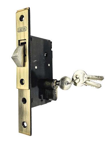 Sliding Door Lock w Single Thumbturn Cylinder L001/705 AB 0139