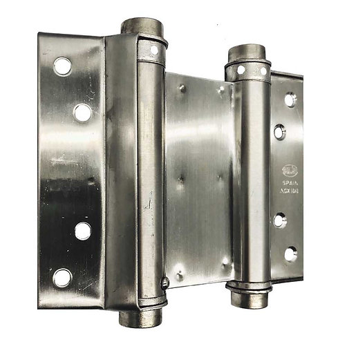 Double Spring Hinges 3037-100 SS 0310