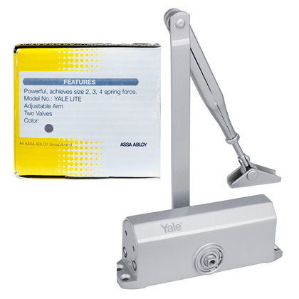 Yale Lite Door Closer 2,3,4 SN 0340