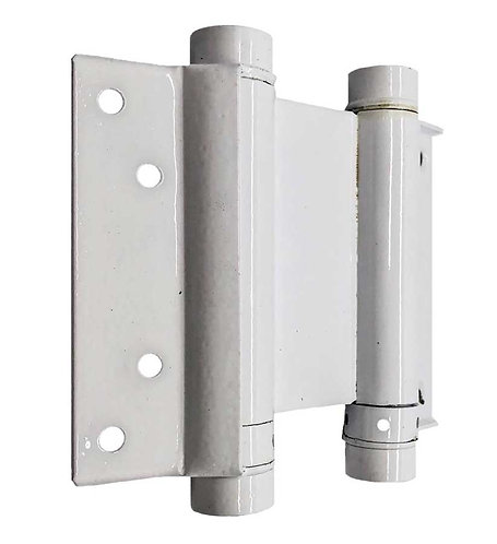 "Spring Hinges 106B 30/100 4"" WH 0172"