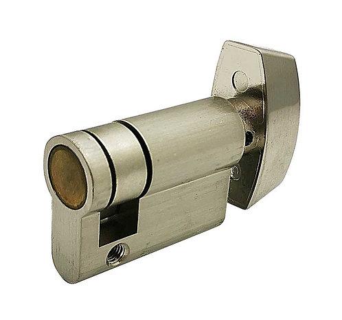 Brass Euro Cylinder Half w Thumbturn 24105-342-619 SN 3303