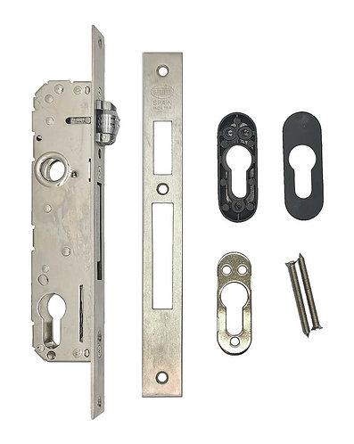 Mortice Metal Lock w Roller CERRADURA 750-25 SS 0335