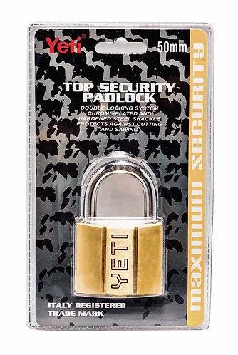 Top Security Padlock L001/V60D Short 50 SB 0119