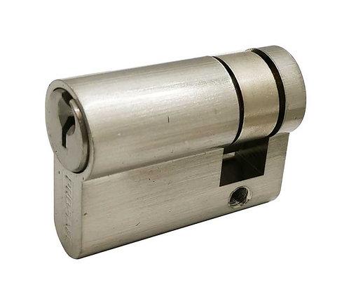 Brass Euro Cylinder Half w/o Thumbturn 24104-042-619 SN 2102