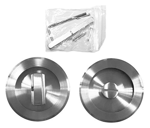 SS Recessed Handle with Coin Lock CDK-63-5 SS 1145