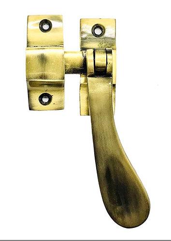 """Brass Casement Fastener 6253 VIC Heavy 4"""" AB 0154"""
