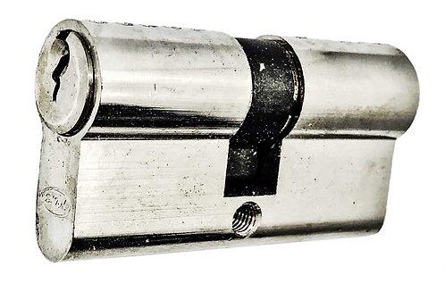 E Both Side Key Cylinder 60mm SS 0175