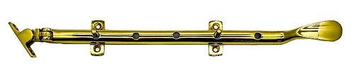"M Brass Window Stay 6204 12"" PB 0111"