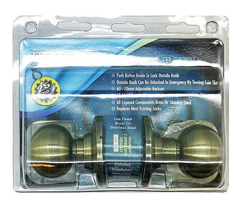 P Cylindrical Knobset CA330-609-6S AB 2102
