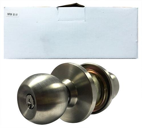 N Cylindrical Lockset Big Cover 5870R ET SS 1122