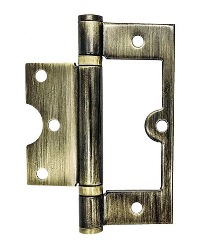 S/S Flushing Hinges 102 x 72.5 x 2.5mm AB 0175