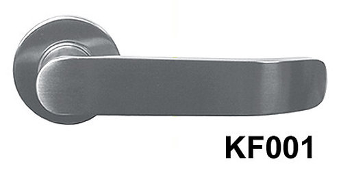 Lever Handle Stainless Steel Black Box KF001 SN 1342