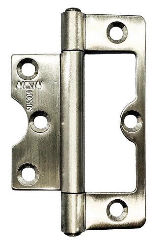 SS BiFold Hinges UPVC 87 x 35 x 1.8mm SS 0119