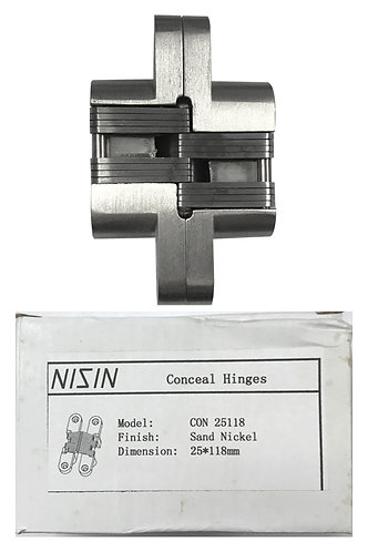 Conceal Hinges Con 25118 25 x 118mm SN 0354