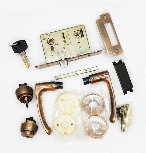 Mortice Lockset L047/JB20-5115-USD11-1B Entrance 51mm AC 1347