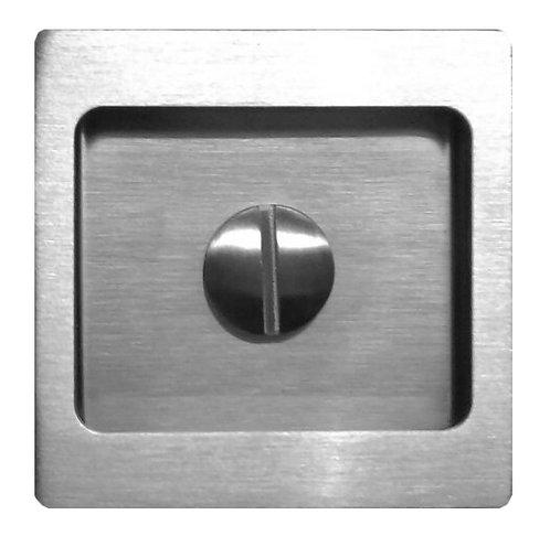 Sliding Recess Handle Square Thumbturn Coin Lock CDK-63-3 SS 0139